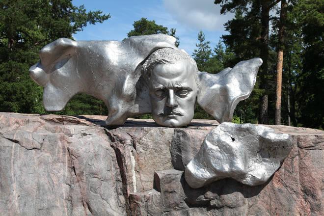 Sibelius Monument in Sibelius Park, Helsinki, Finland, by artist Sheldon Marshall