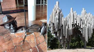 Beautiful musical sculptures around the world