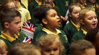 British government urges school kids to sing 'patriotic' One Britain anthem