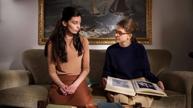 Gaia Garace and Margherita Mazzucco as Lila and Lenu