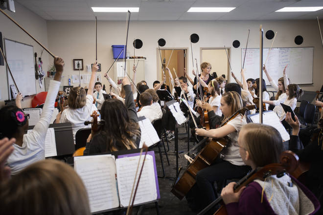 """""""Music and the arts should be accessible to everyone,"""" says the composer"""