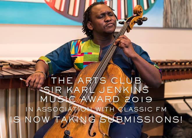 Abel Selaocoe won last year's The Arts Club – Sir Karl Jenkins Music Award in association with Classic FM