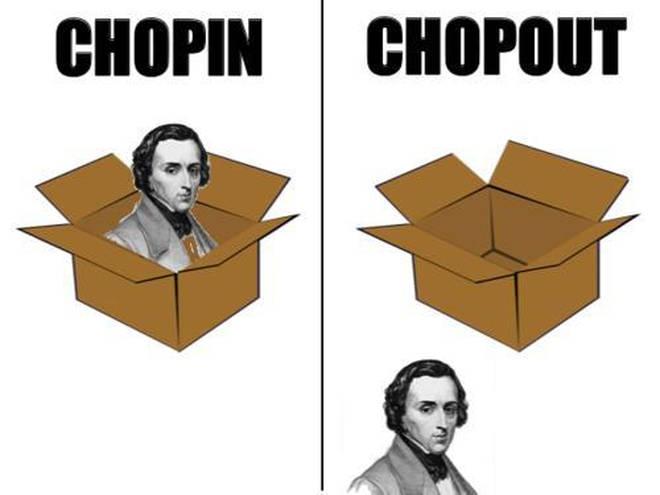 Chopin, Chopout