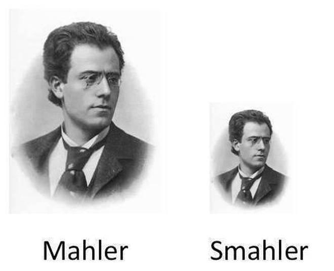 Mahler, smahler