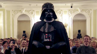 When Star Wars' Darth Vader gatecrashed a classical concert, the conductor knew what to do