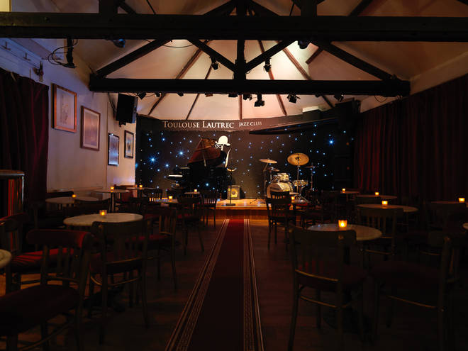 Toulouse Lautrec jazz club in Kennington is available to hire through Tutti.