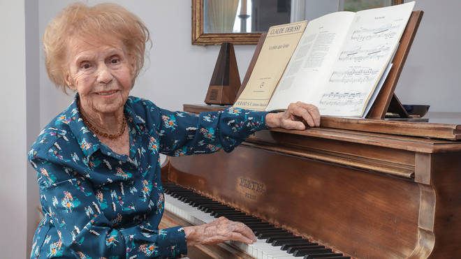 Colette Maze is one of the world's oldest pianists