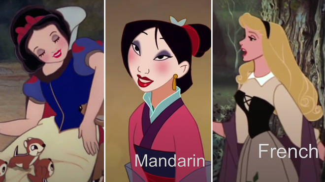 76 Disney characters sing in their native languages
