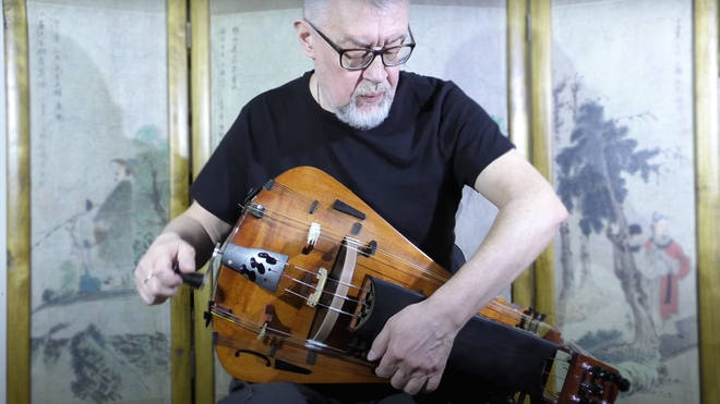 Hear the incredibly hypnotising sound of the zanfona, a strange medieval musical instrument