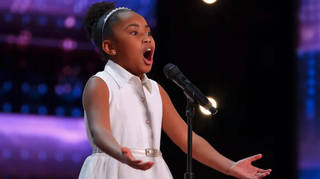 9-year-old soprano Victory Brinker sings French aria to win Golden Buzzer first