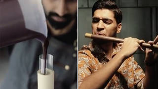Man creates actual playable flute made entirely of chocolate
