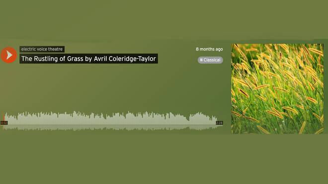 Avril Coledridge-Taylor's 'The Rustling of Grass'