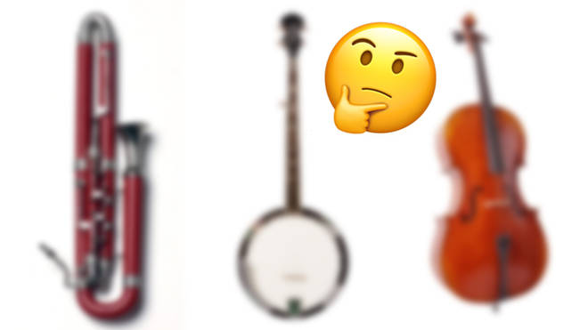Can you name these blurred-out musical instruments?