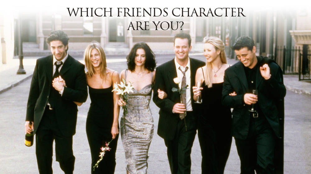 Which Friends character are you, based on your taste in music?