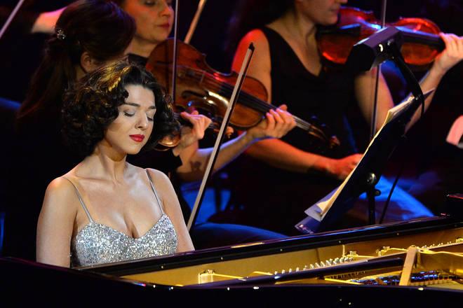 Pianist Khatia Buniatishvili will play Rachmaninov's Piano Concerto No.2 at Classic FM Live 2021