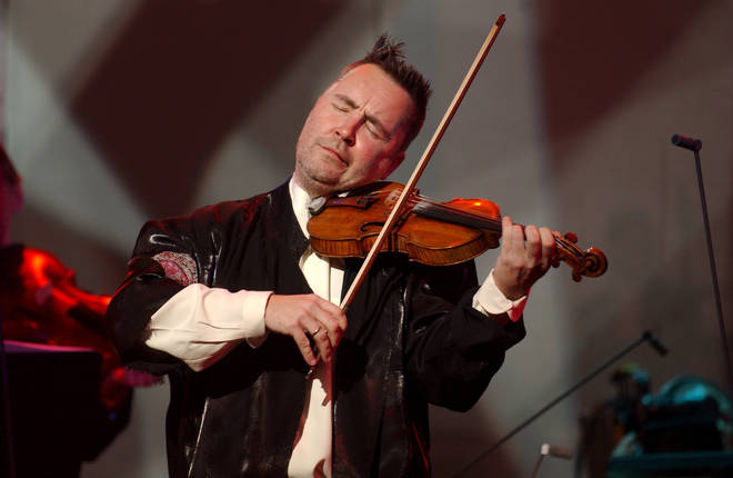 Star English violinist Nigel Kennedy will perform a medley of Vivaldi's Four Seasons