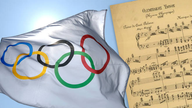 Listen to the 'Olympic Hymn', a choral cantata composed for the 1896 Summer Olympics in Greece