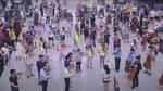 Hong Kong Airport Flashmob