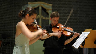University music students perform in a concert