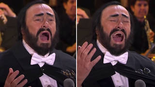 When Pavarotti sang his final 'Nessun dorma' to close Italy's Olympics Opening Ceremony