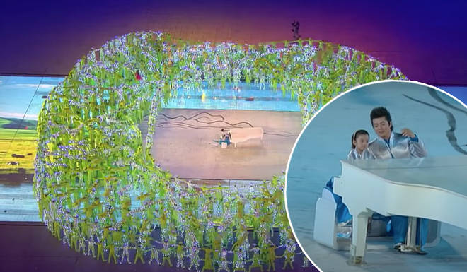 Lang Lang at the Beijing Olympics Opening Ceremony