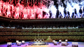 Tokyo 2020 Opening Ceremony begins on Friday 23 July
