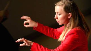 Anna Lapwood conducts the Leeds Lieder festival