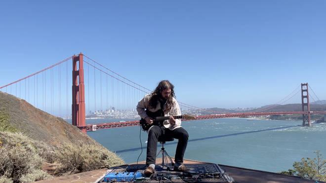 Nate Mercereau duets with the Golden Gate Bridge