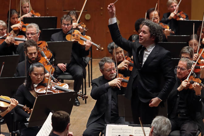 Elinor performed as a soloist with the esteemed Los Angeles Philharmonic (conducted here by Gustavo Dudamel)