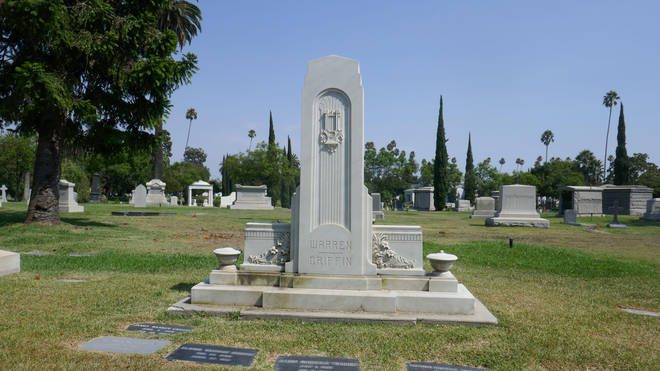 Elinor Remick Warren Griffin's grace at Hollywood Forever Cemetery