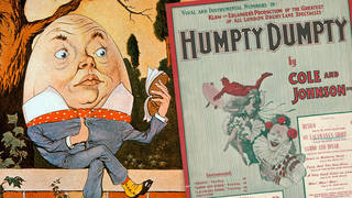 What are the origins of 'Humpty Dumpty Sat on a Wall', and what do the lyrics mean?