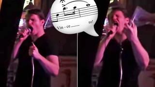 Tenor stuns pub audience with a thunderous 'Nessun dorma' at karaoke night