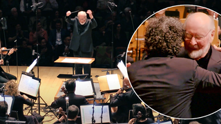John Williams conducting a birthday surprise for Gustavo Dudamel is too much for our hearts