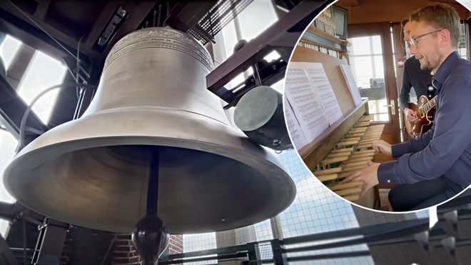 Motörhead's 'Ace of Spades', except it's played on enormous ancient church bells