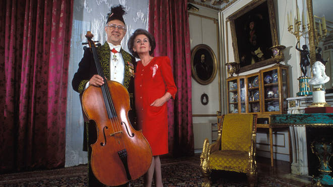 Mstislav Rostropovich and Galina Vishnevskaya