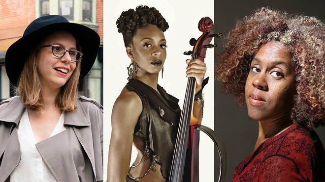 From left: Anna Clyne, Ayanna Witter-Johnson and Errollyn Wallen