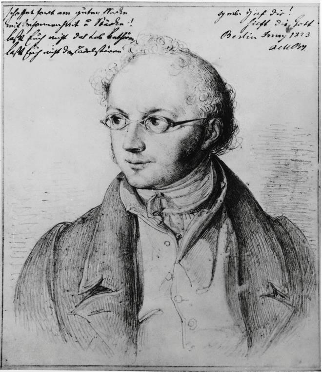 Portrait of Abraham Mendelssohn Bartholdy