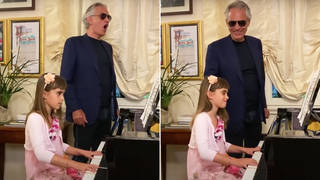 Andrea Bocelli's 'Ich Liebe Dich' father-daughter duet is too much for our hearts