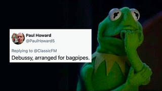 People have been sharing their four-word classical music horror stories and it's hilarious