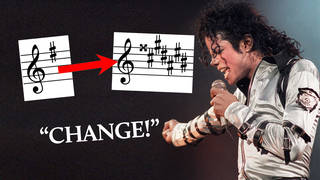 Michael Jackson's 'Man In The Mirror' chord change