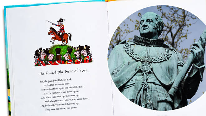 What is the story behind 'The Grand Old Duke of York', and what are the song's origins?