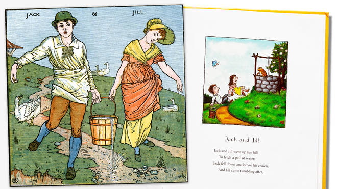What are the origins of 'Jack and Jill', and what do the lyrics mean?