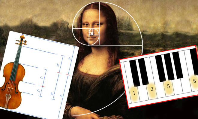 Fibonacci sequence in music