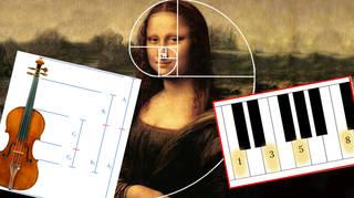 Fibonacci sequence in music