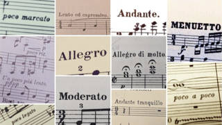 Useful musical terms - in Italian and beyond