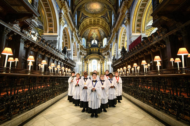 St Paul's Cathedral Choristers Prepare For Live-Streamed Concert