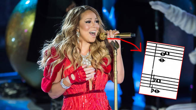 Mariah Carey sings 'All I Want For Christmas Is You'
