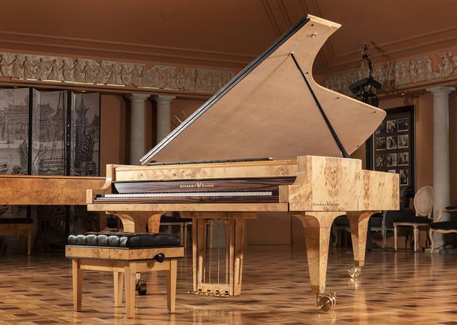 Nine-octave Stuart & Sons piano