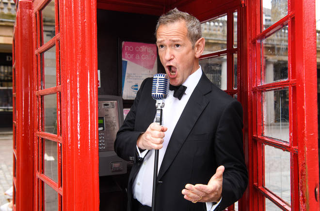 Alexander Armstrong will sing at venues around London and beyond