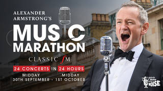 Classic FM's Alexander Armstrong to sing 24 concerts in 24 hours for charity